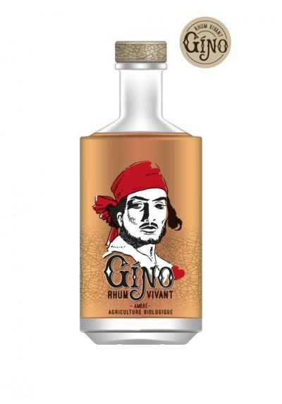 RHUM GINO ALCOOLS VIVANT 70CL 42.2% BIO