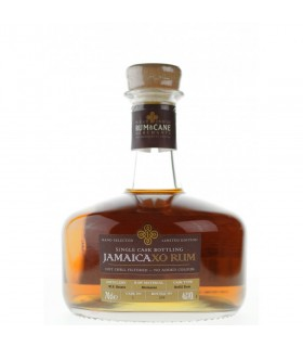 RUM & CANE JAMAICA XO SINGLE BARREL 46° 70 CL