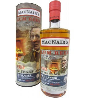 MACNAIR'S PEATED SCOTCH BLENDED MALT 46% 70CL