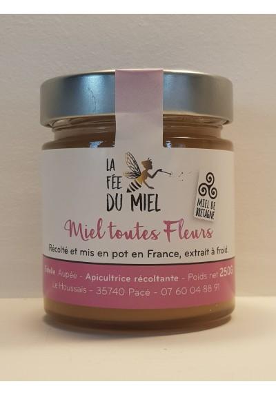 MIEL TOUTES FLEURS LA FEE DU MIEL 250G