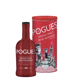 THE POGUES IRISH WHISKY SINGLE MALT 40% 70CL