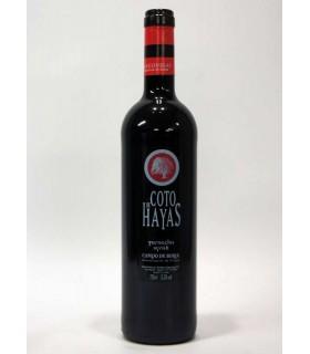 VIN ESPAGNOL COTO DE HAYAS ROUGE 75 CL