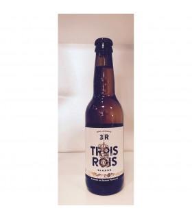 TROIS ROIS BLONDE BIERE 33CL