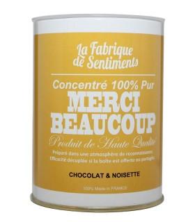 BOITE CHOCOLATS MERCI BEAUCOUP 200GR