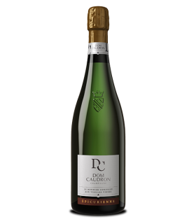 CHAMPAGNE  EPECURIENNE DOM CAUDRON BRUT BLANC 75CL