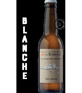 BARBAUDE REINE DES MOUSSES BIERE BLANCHE 33CL