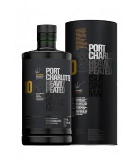 PORT CHARLOTTE 10 ANS PEATED ISLAY SINGLE MALT 70CL
