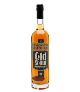 SMOOTH AMBLER OLD SCOUT AMERICAN WHISKEY 49.5%