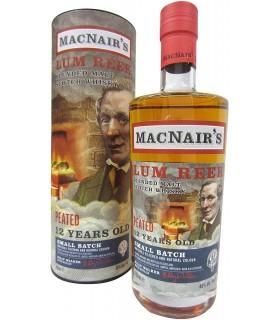MACNAIR'S PEATED SCOTCH BLENDED MALT 46% 70CL