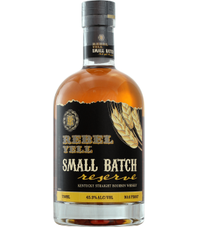 REBEL YELL SMALL BATCH RYE ET BOURBON WHISKY USA 45% 70CL