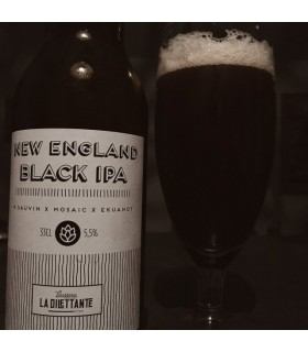BIERE DILETTANTE NEW ENGLAND BLACK IPA 33CL