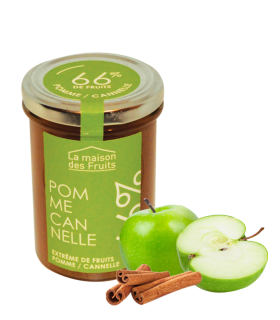 EXTREME DE FRUITS POMME-CANNELLE 110G