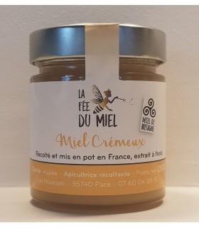 MIEL CREMEUX  LA FEE DU MIEL250G