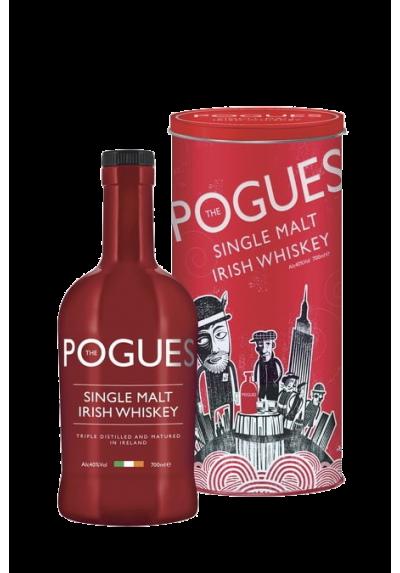 THE POGUES IRISH WHISKY SINGLE MALT 40% 70CL