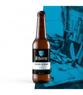 ATHANOR BLANCHE WITBIER 75CL L'OEUVRE DU BLANC 4.6%