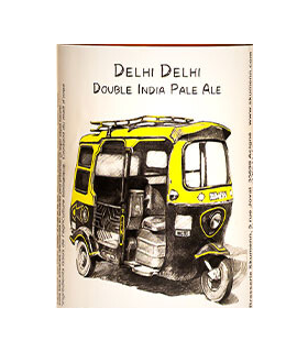 "BIERE SKUMENN ""DELHI DELHI""  CANETTE 33 CL DOUBLE IPA"
