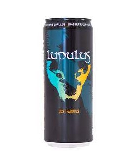 LUPULUS HOPPY WHEAT JUST FABULUS 33 CL CANETTE
