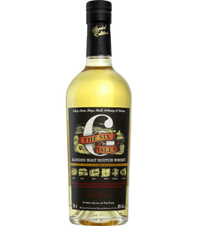 WHISKY THE 6 ISLES 70CL 43°
